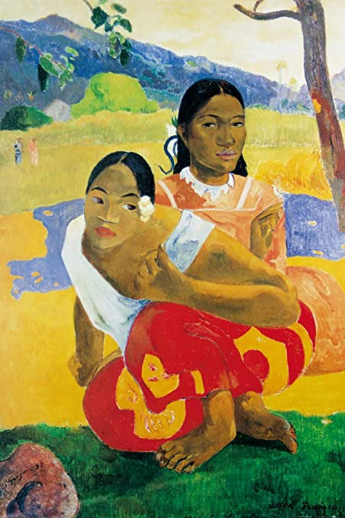 Quand te maries-tu ? de Paul Gauguin