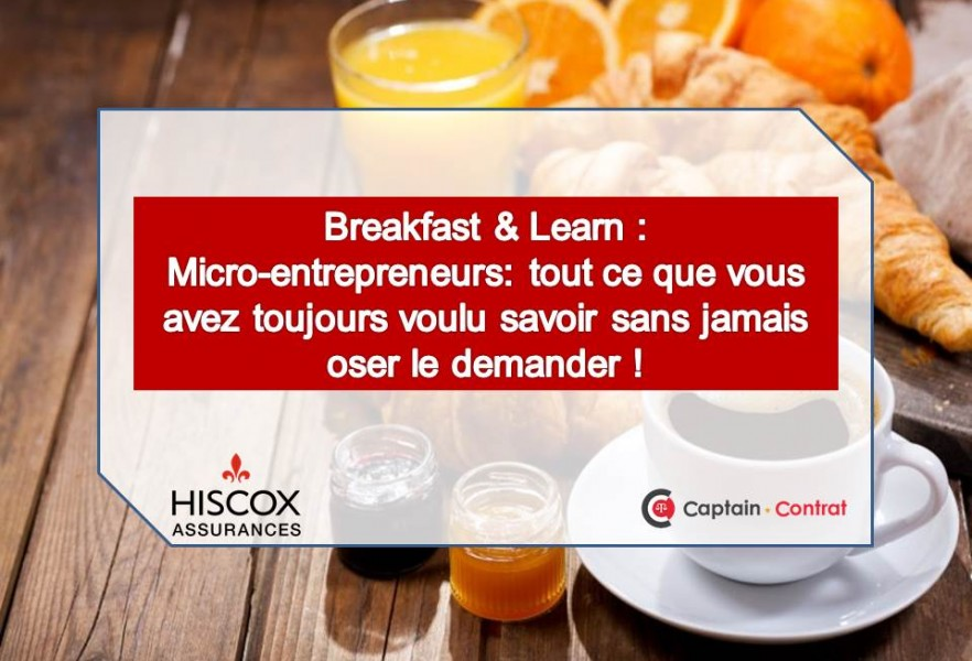 Breakfast & Learn: Micro-entrepreneurs
