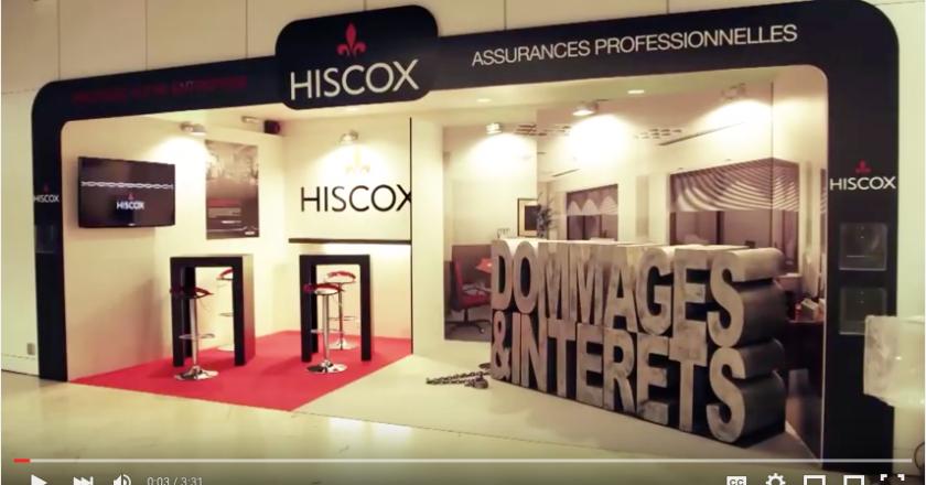 Hiscox sur le salon des micro-entreprises - Le making of