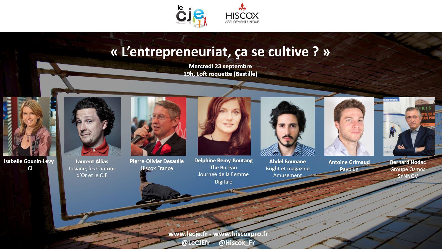 CJE x Hiscox