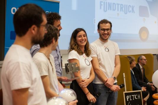 Leka gagnant FundTruck 2015