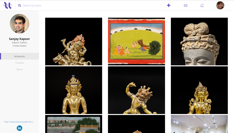 profil galerie ny globalisation de l'art Uart