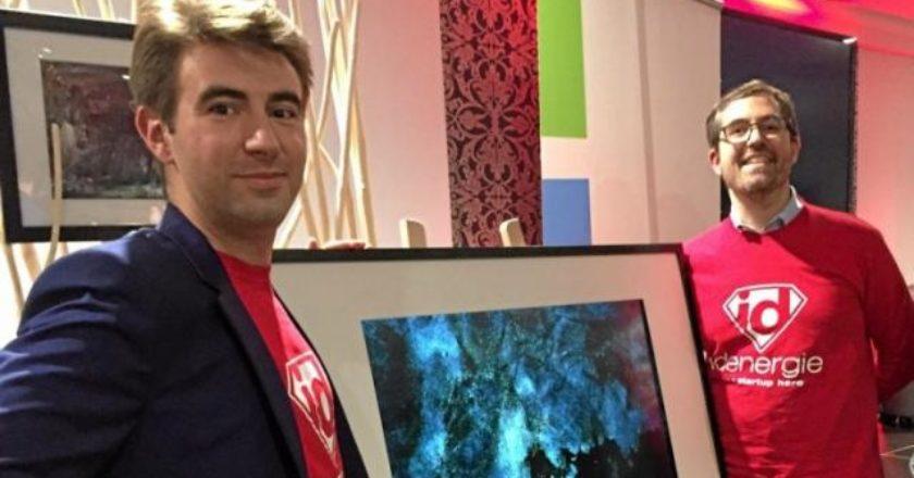 Simon Cau et Christophe Roux fondateurs Artify collectionneurs d'art