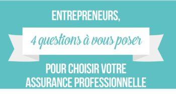 assurance professionnelle entrepreneur infographie mini