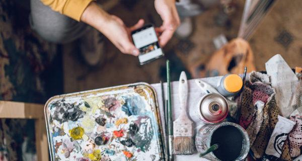 Start up de Art Tech, lnstagram véritable réseau social d'influence